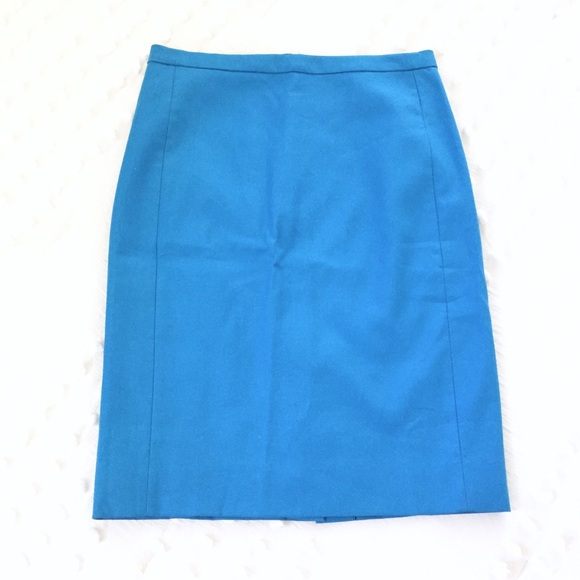 J. Crew Dresses & Skirts - J.CREW Blue Pencil Skirt